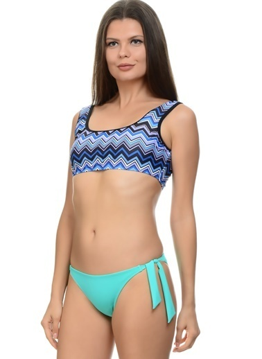 Motel Rocks Bikini Üst Mavi